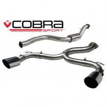 Focus RS MK2 Cobra Sport Cat Back System (Venom Range)