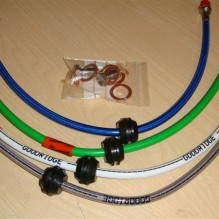Goodridge braided brake lines